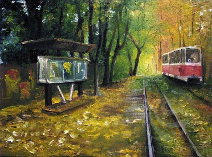 сентябрь на трамвае